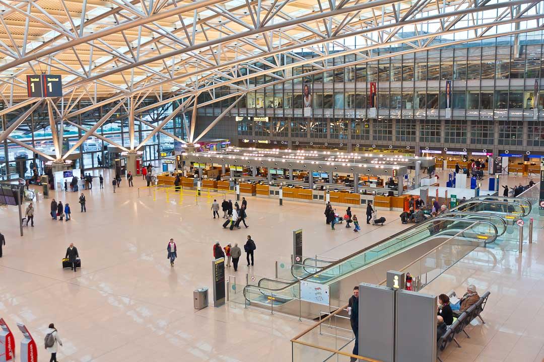 Гамбург: аэропорт